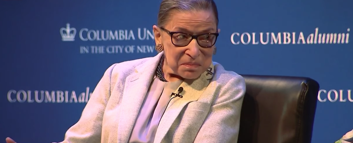 Justice Ginsburg Indicts Half The Country, Blames 'Macho Atmosphere' And 'Sexism' For Trump's Win