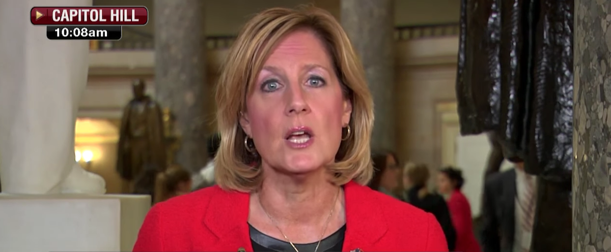 New York Republican Rep. Claudia Tenney said Democrats are more likely to be mass murderers in comparison to Republicans, in an interview Wednesday. (Screen Shot/Youtube/Claudia Tenney)