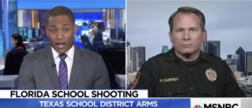 Texas Sheriff Who Allows Teachers To Carry Firearms Leaves MSNBC's Jaw On The Floor