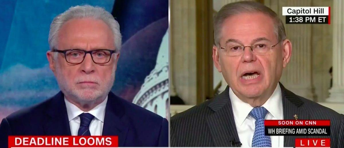 Screenshot: Sen. Bob Menendez Says 'Chain Migration' Is Offensive (CNN: Feb 13, 2018)