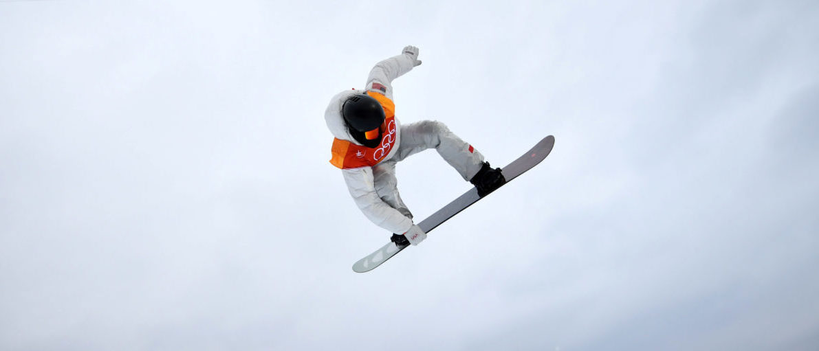 Snowboarding - Pyeongchang 2018 Winter Olympics - Men's Halfpipe Finals - Phoenix Snow Park – Pyeongchang, South Korea – February 14, 2018 - Shaun White of the U.S. competes. REUTERS/Dylan Martinez