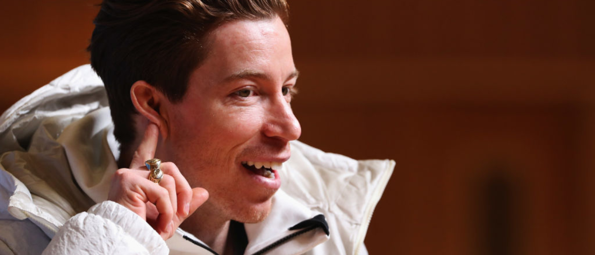 United States men's snowboarder Shaun White attends a press conference at the Main Press Centre during previews ahead of the PyeongChang 2018 Winter Olympic Games on February 8, 2018 in Pyeongchang-gun, South Korea. (Photo by Ker Robertson/Getty Images)