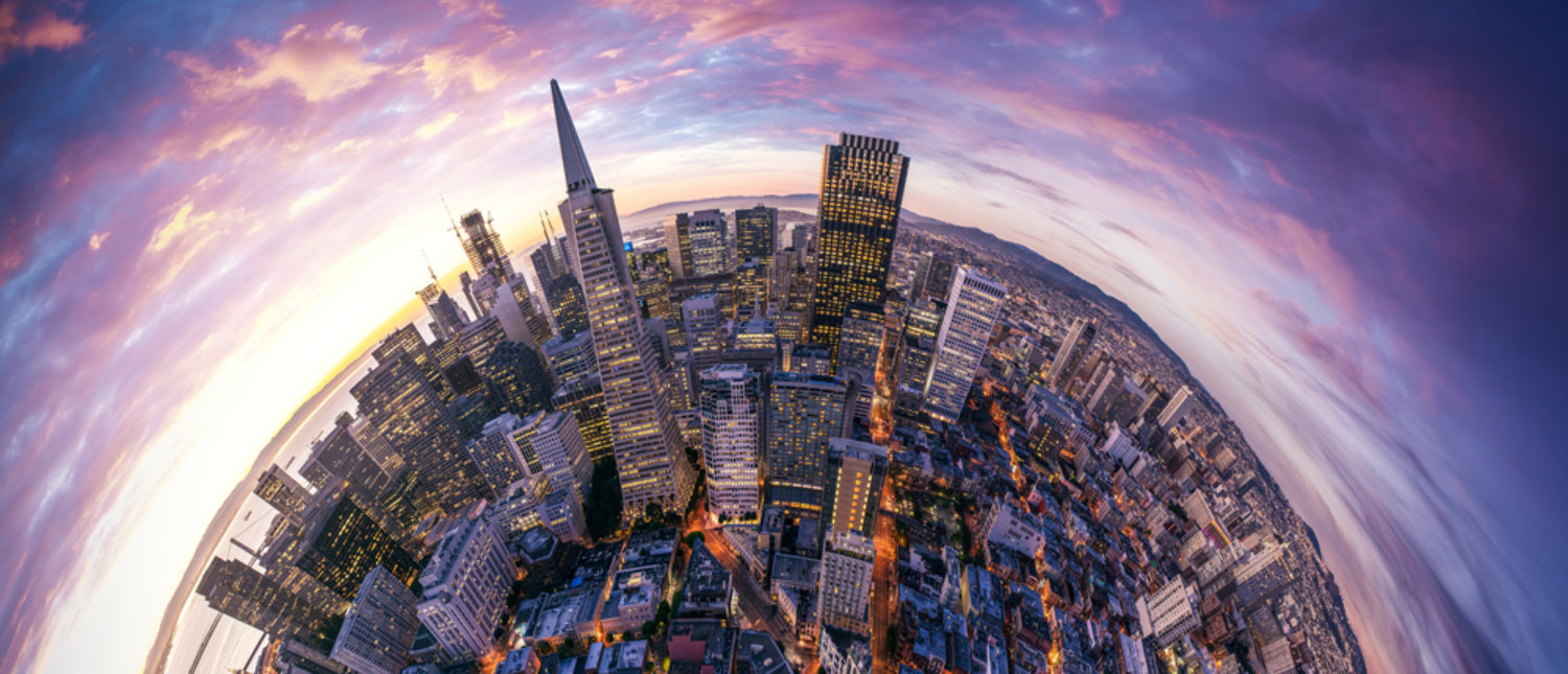 A view of the Silicon Valley skyline view. [Shutterstock - IM_photo]