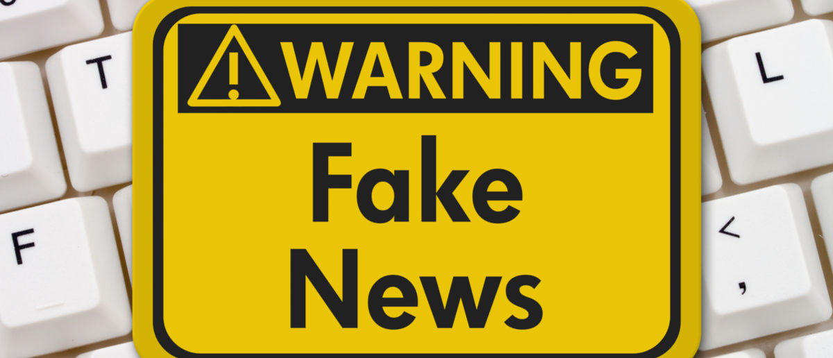 The Washington Post's Aaron Blake circulated a problematic study Tuesday that allegedly suggests fake news might have been the deciding factor for President Donald Trump's victory in the 2016 election. Shutterstock/ karen roach