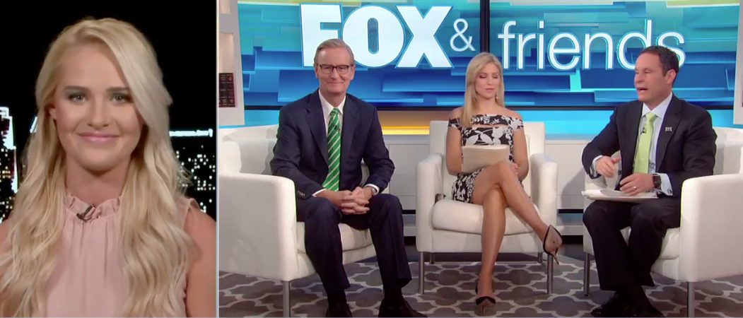 Tomi Lahren Fox and Friends Fox News screenshot