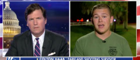 Tucker Interviews Shooting Survivor Over CNN Scripting Questions