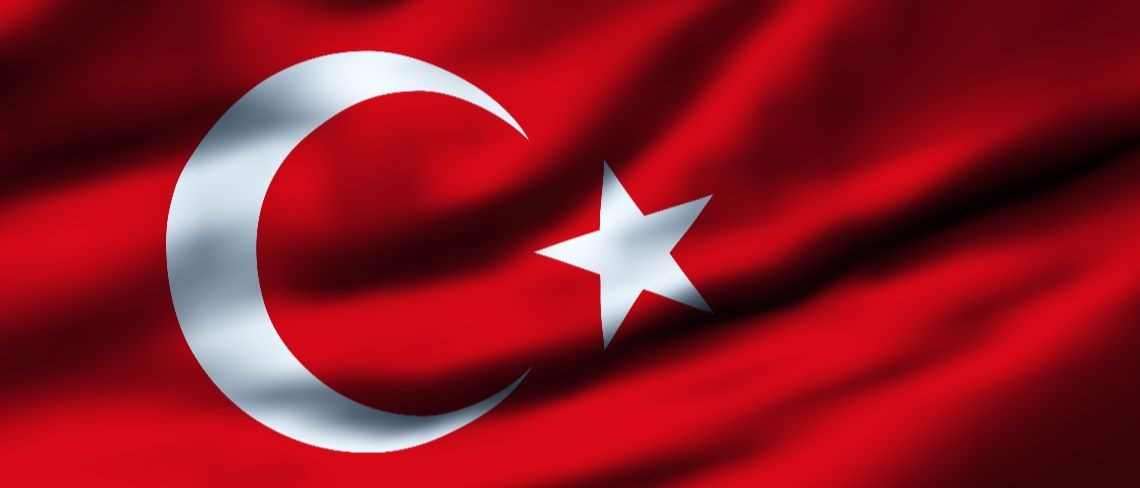 Turkey Turkish flag Shutterstock/Filip Bjorkman