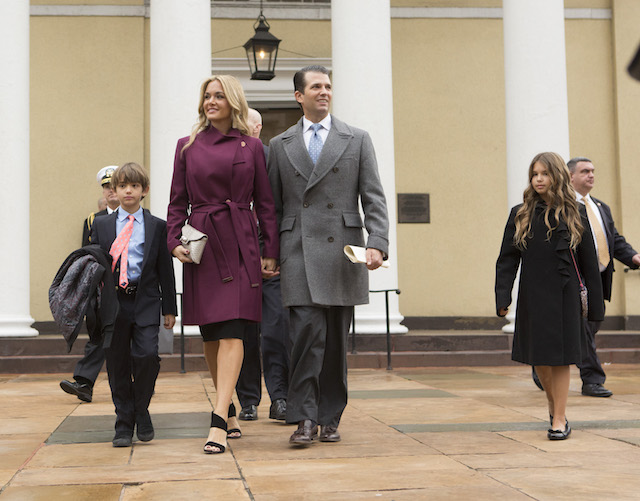 Trump's daughter-in-law opens letter containing suspicious substance