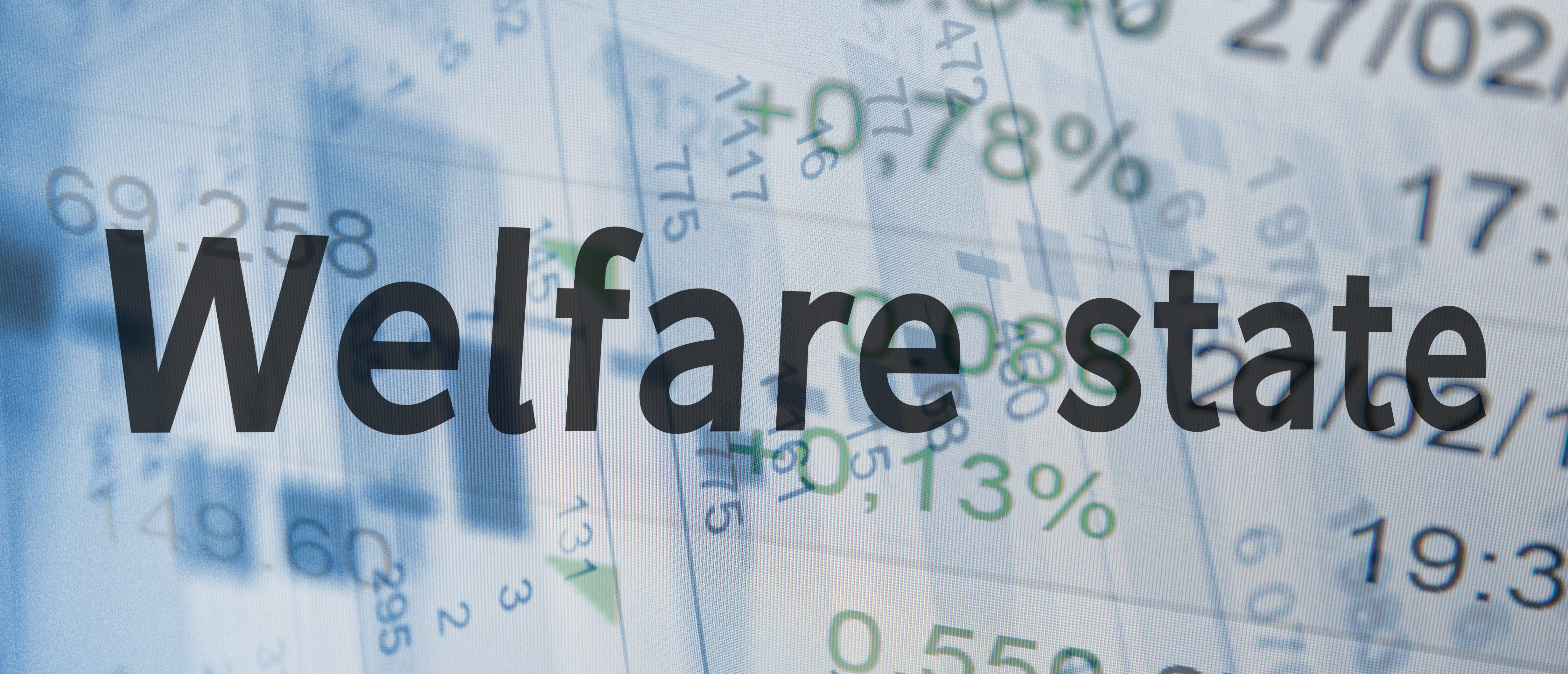 The welfare state with numbers and formulas. (Shutterstock)