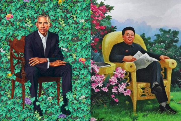 11 Things Obama's Portrait Looks Like | The Daily Caller