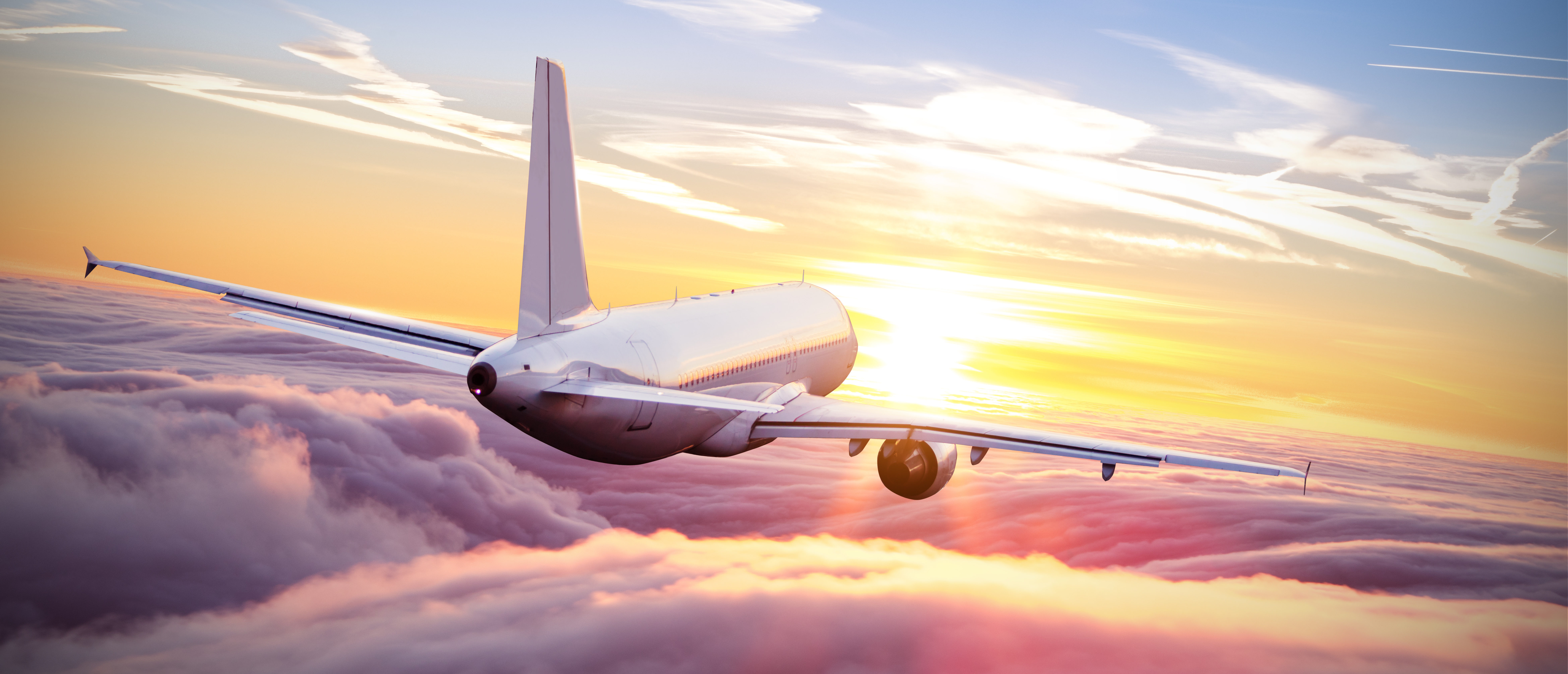 Airplane Into The Sunset Shutterstock
