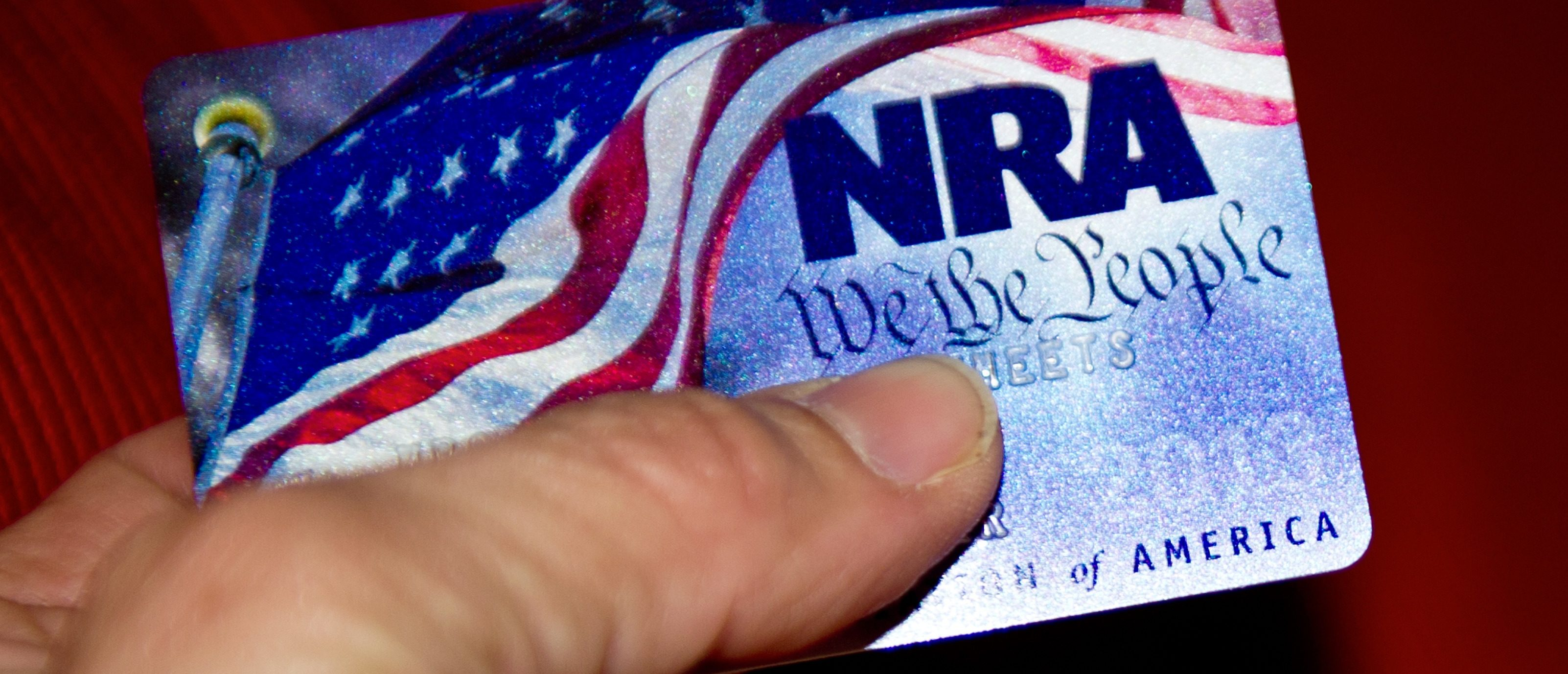 "A membership card for the National Rifle Association (NRA) is seen on January 10, 2013 in Manassas, Virginia. Though the NRA unsurprisingly objected to the gun control measures being considered by US Vice President Joe Biden's gun violence task force, Biden is pressing on with his plan to send the president gun control proposals by January 15. Biden met with the NRA and other gun control opponents January 10 for about an hour and a half. The NRA in a statement following the meeting said, ""We were disappointed with how little this meeting had to do with keeping our children safe and how much it had to do with an agenda to attack the Second Amendment."" ""It is unfortunate that this administration continues to insist on pushing failed solutions to our nation's most pressing problems."" (KAREN BLEIER/AFP/Getty Images)"