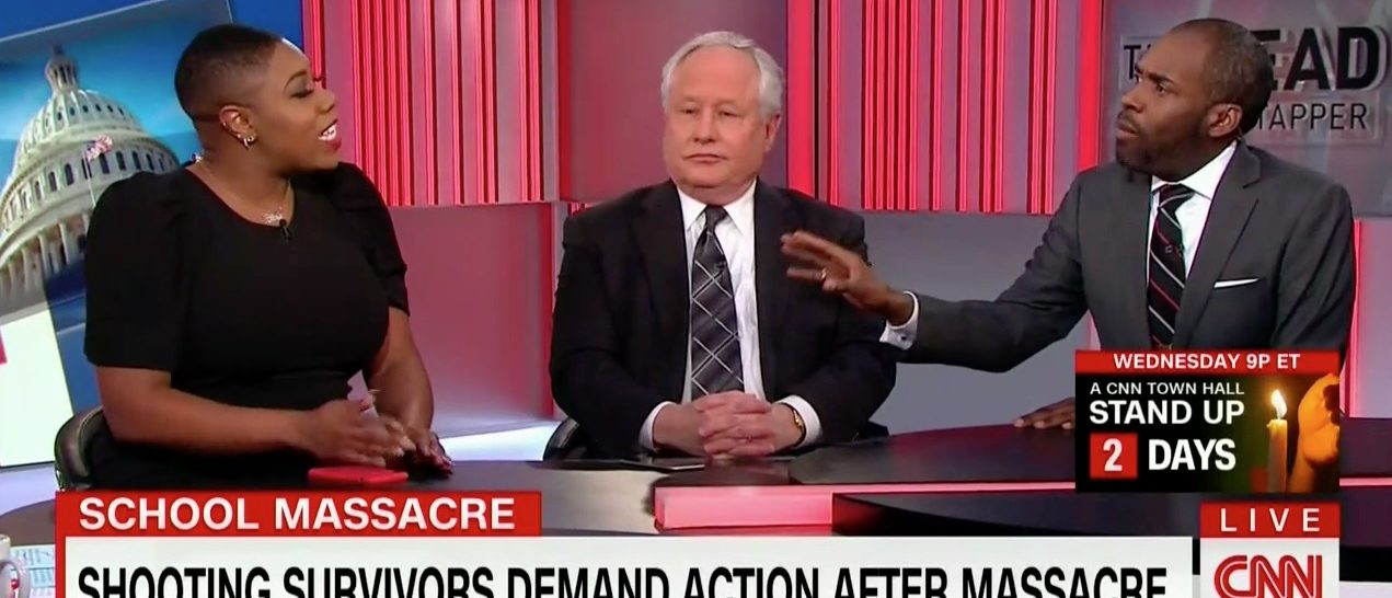 Symone Sanders, Bill Kristol, Paris Dennard (CNN)