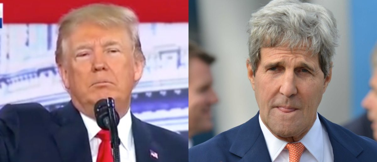 Trump Just Dropped A Nuke On John Kerry For The Iran Deal - He's Radioactive Now