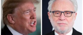 Trump Retweets Cartoon Mocking 'Big Ratings Loser' Wolf Blitzer