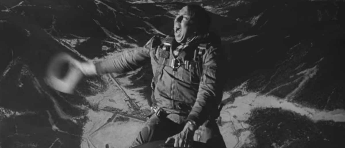"""Iconic scene from Stanley Kubrick's """"Dr. Strangelove"""" (Image: Screengrab YouTube/Movieclips/Sony Pictures Inc)"""
