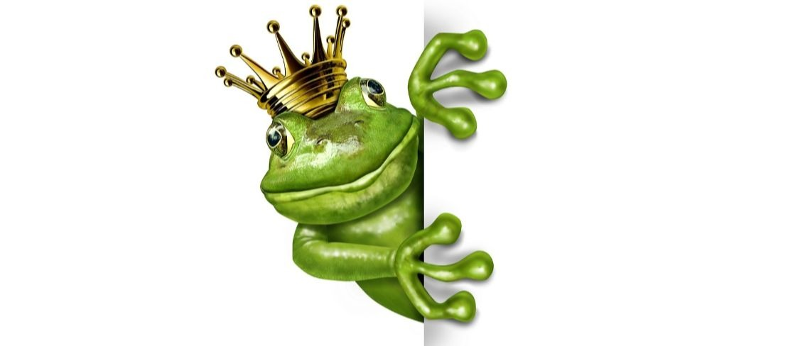 frog prince fairy tale Shutterstock/Lightspring