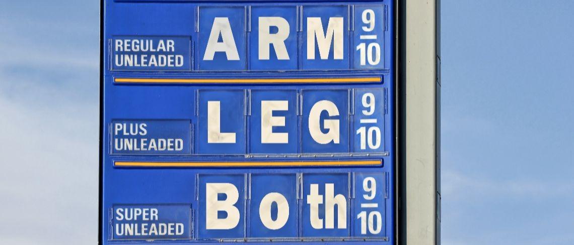 gas prices Shutterstock/Heather A Craig