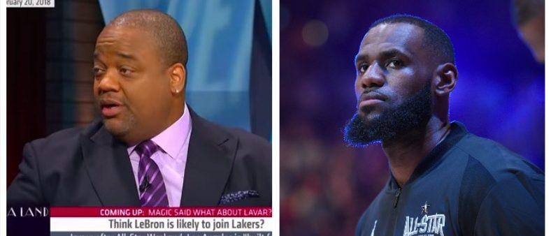 Jason Whitlock, LeBron James (YouTube/Getty Images)