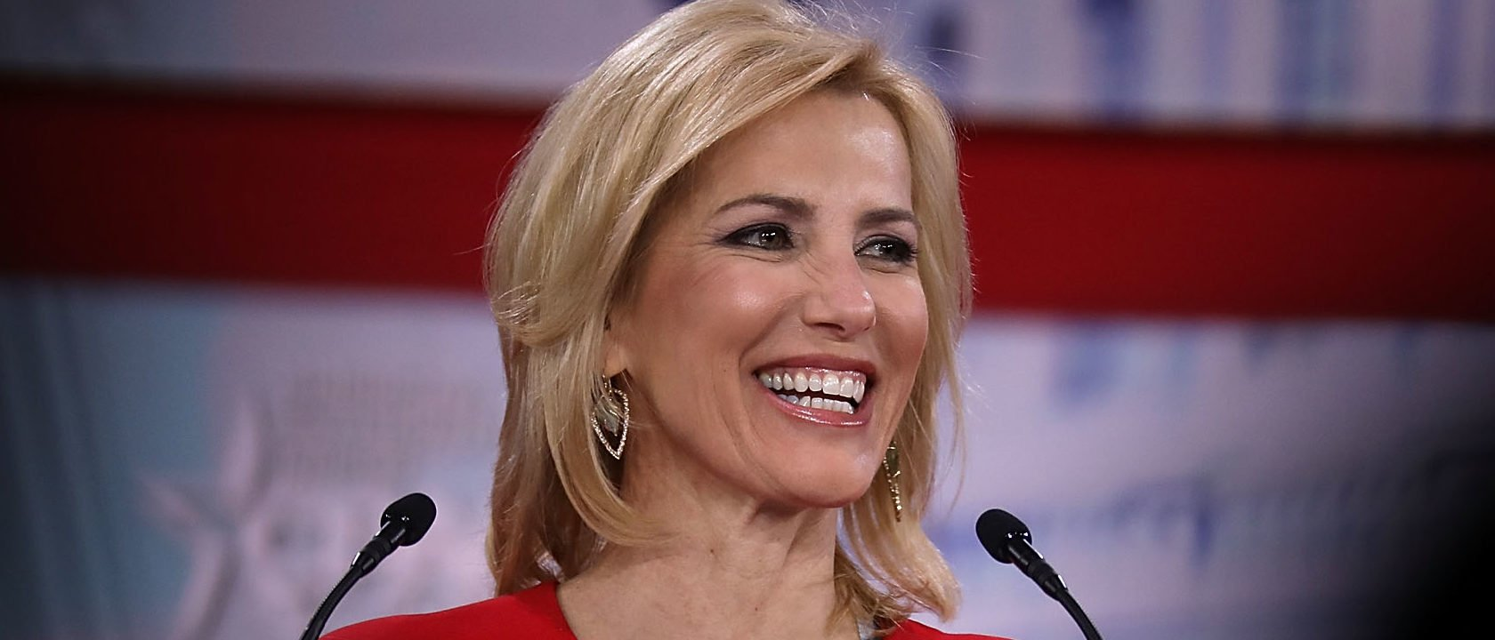 NATIONAL HARBOR, MD - FEBRUARY 23: Fox News Channel host Laura Ingraham addresses the Conservative Political Action Conference at the Gaylord National Resort and Convention Center February 23, 2018 in National Harbor, Maryland. U.S. President Donald Trump is scheduled to address CPAC, the largest annual gathering of conservatives in the nation. (Photo by Chip Somodevilla/Getty Images)