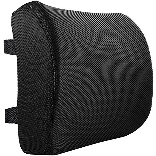 Normally $90, this lumbar support pillow is 79 percent off (Photo via Amazon)