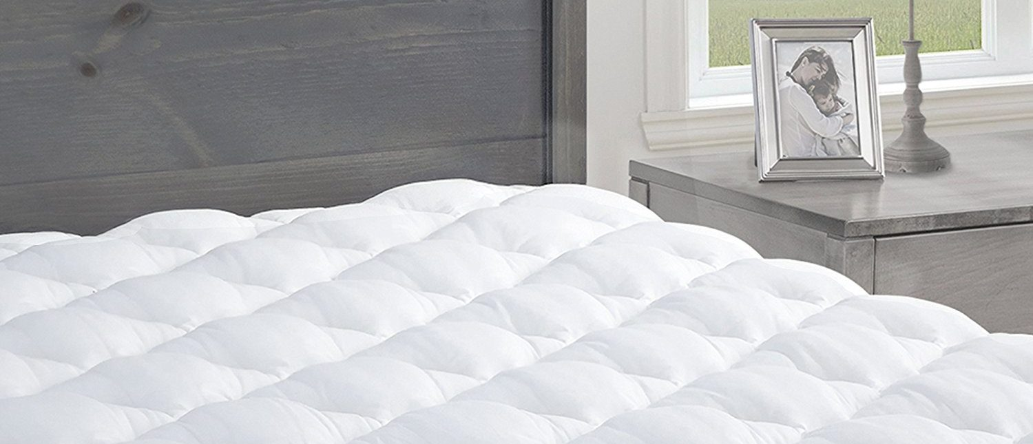 Normally $85, these mattress pads are 25 percent off today (Photo via Amazon)