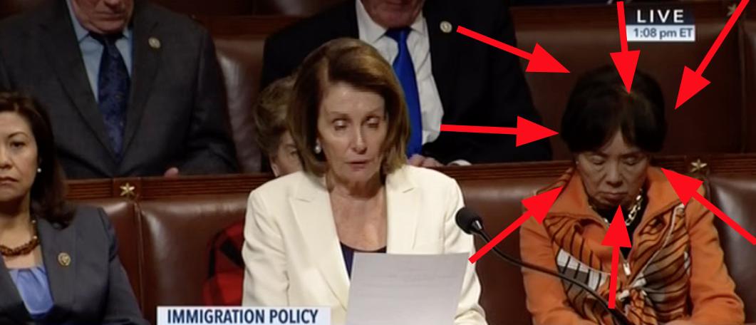 Nancy Pelosi, Doris Matsui (CSPAN)