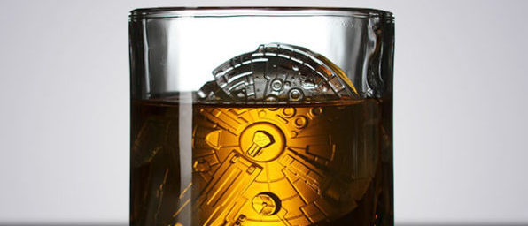 Normally $15, these Star Wars ice molds are 33 percent off