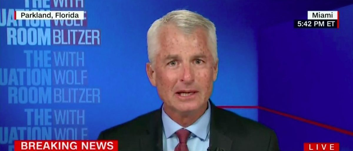 CNN's Phil Mudd Breaks Down During FL School Shooting (Feb 14, 2018)