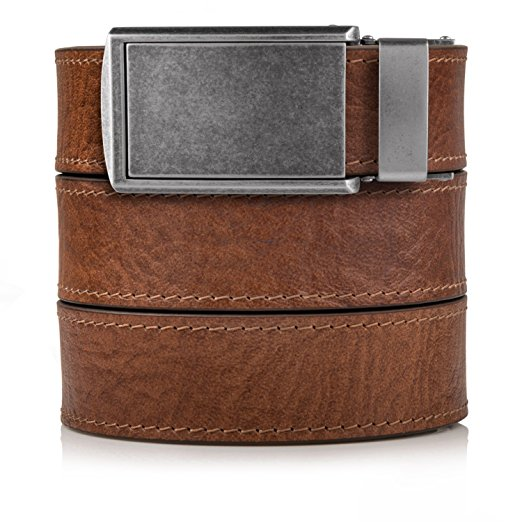 Normally $85, this belt with no holes is 48 percent off today (Photo via Amazon)