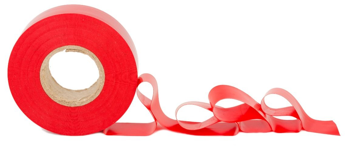 red tape Shutterstock/SeDmi