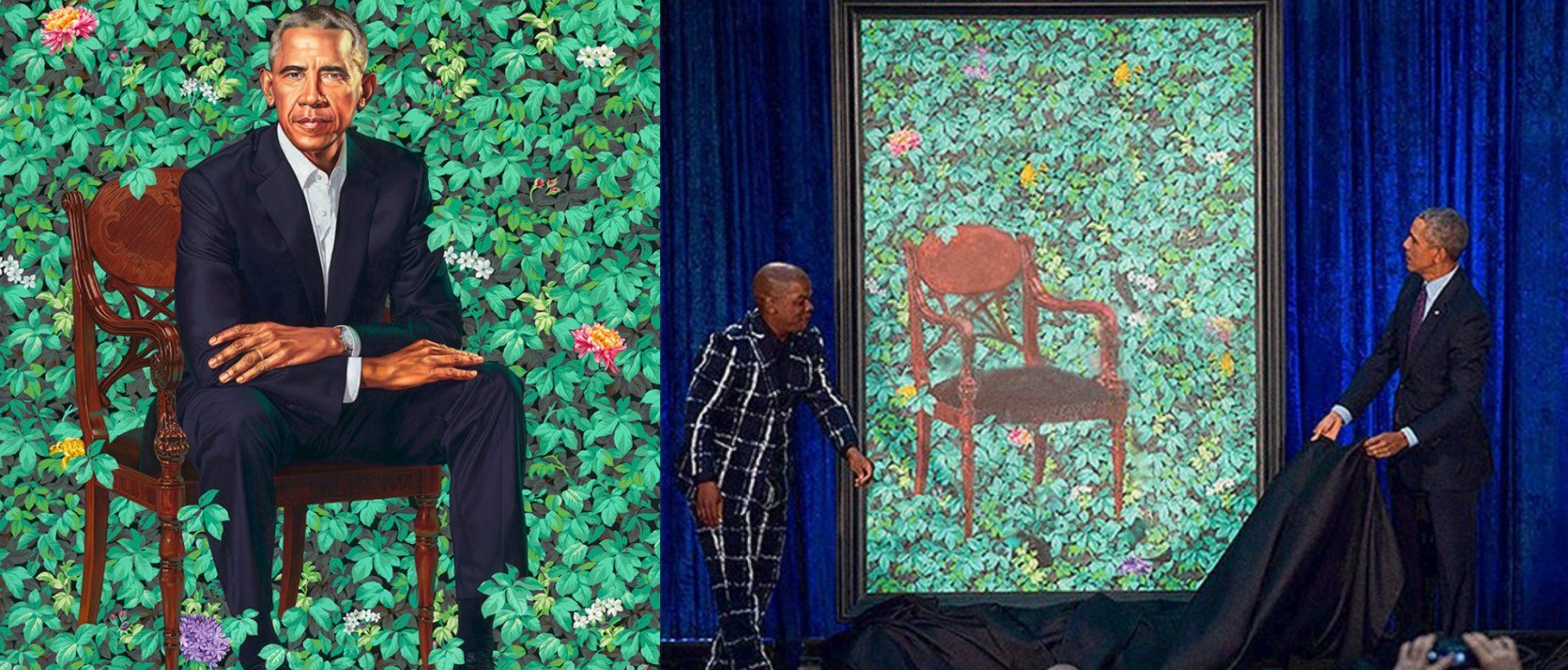 Obama Portrait Satire (Courtesy of David Combs)