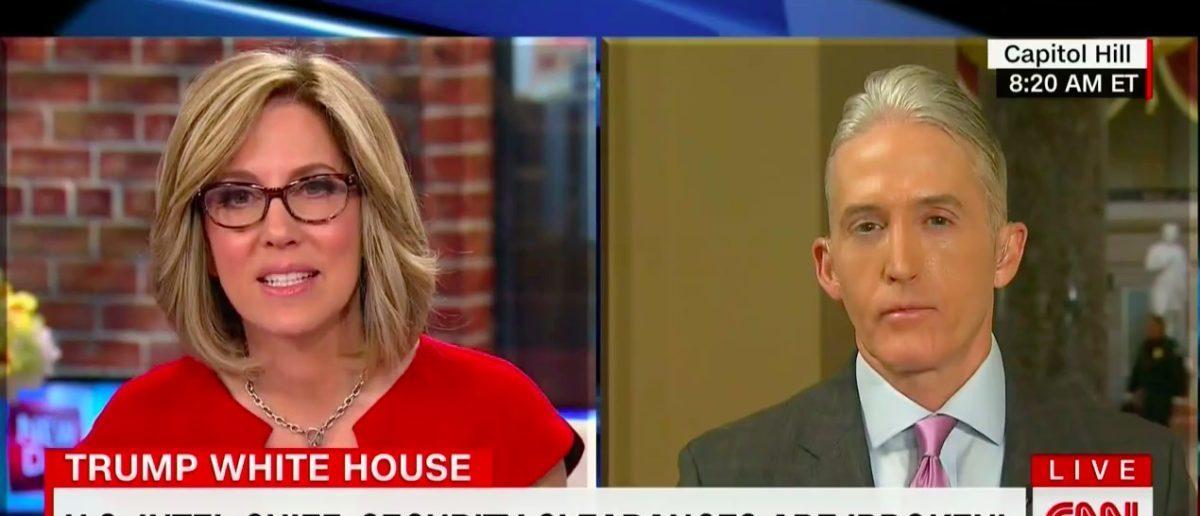 Rep. Trey Gowdy Slams WH Over Rob Porter (CNN: Feb 14, 2018)