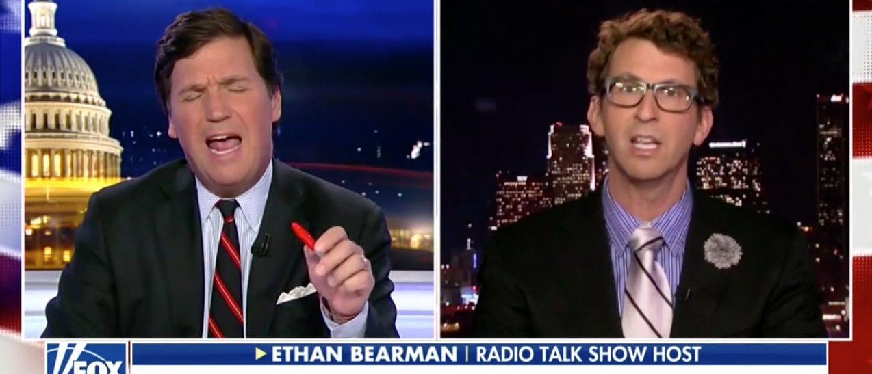 Tucker Carlson, Ethan Bearman (Fox News)
