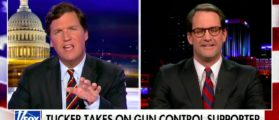 Tucker Carlson Presses Democratic Rep On Gun Control
