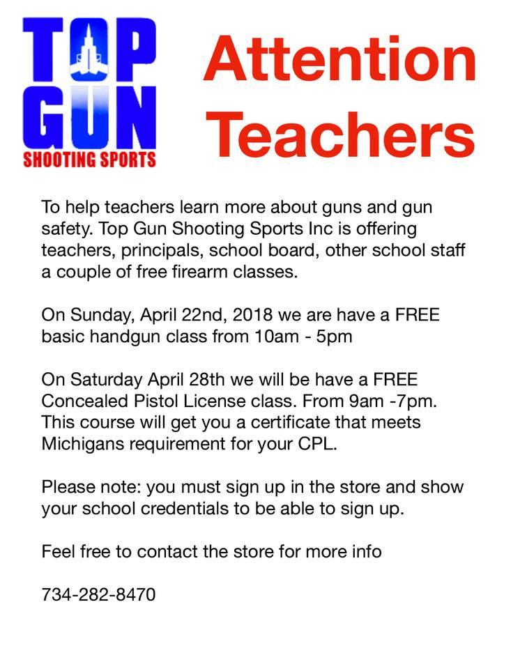 Gun Range Owner Offered Teachers Free Firearm Lessons – Now He\'s ...