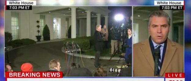 Acosta CNN screenshot
