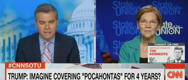 Acosta Warren CNN screenshot