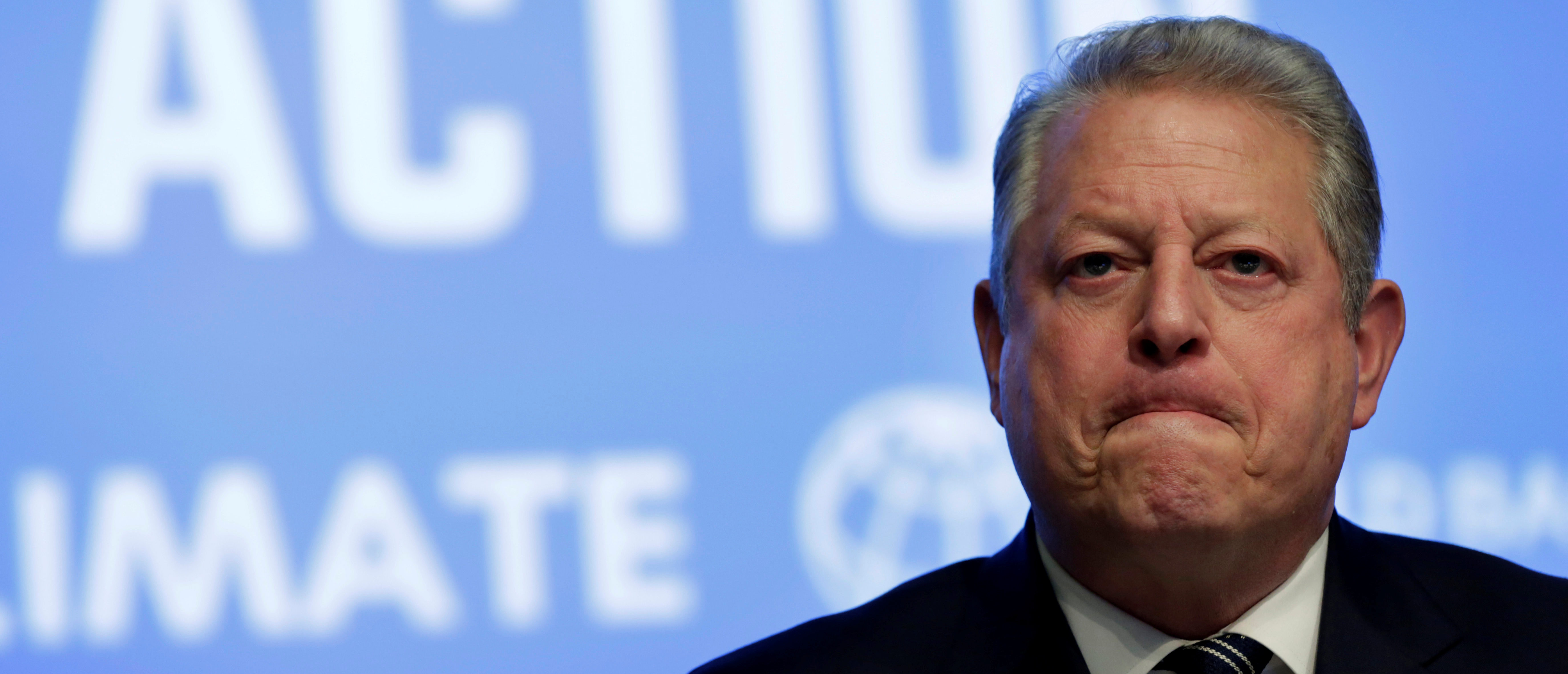 Former U.S. Vice President Al Gore attends Unlocking Financing for Climate Action