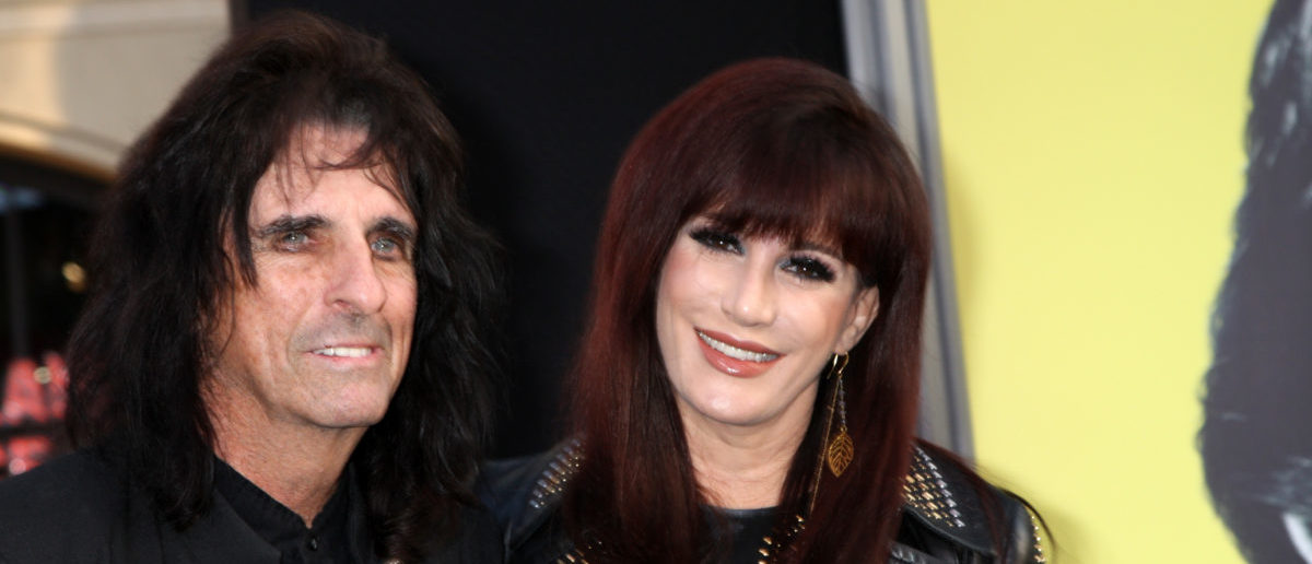 Alice Cooper arrives at the Dark Shadows - Los Angeles Premiere at Graumans Chinese Theater -ShutterStock Kathy Hutchins