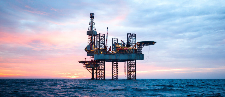 An Offshore Oil Rig (shutterstock/ Lukasz Z) | Zinke Stiff-Arms Oil Companies