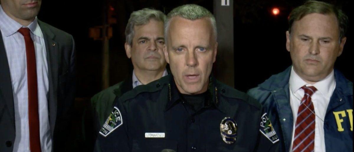 Austin Police Chief Brian Manley (Screenshot/KXAN)