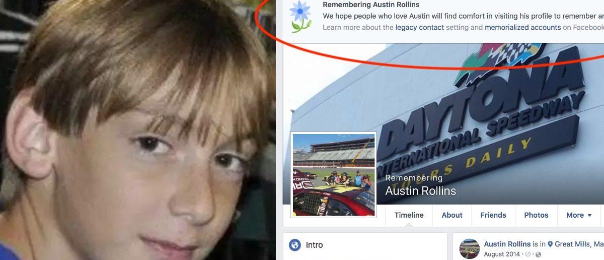 Screenshot/Austin Rollins/Facebook