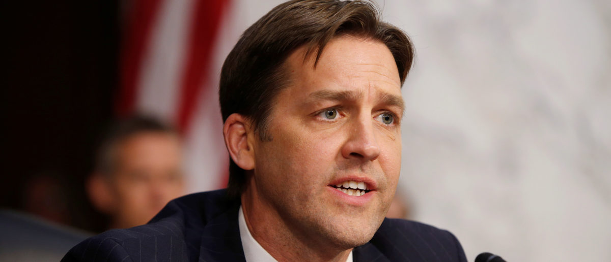 Senator Ben Sasse (R-NE) questions Supreme Court nominee judge Neil Gorsuch during his Senate Judiciary Committee confirmation hearing on Capitol Hill in Washington, U.S., March 21, 2017. REUTERS/Joshua Roberts