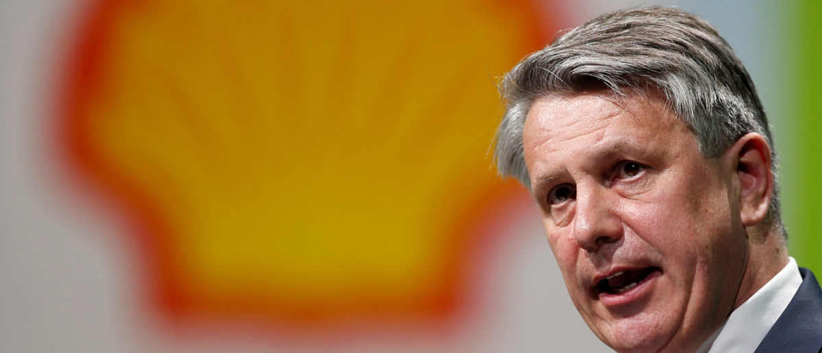 Royal Dutch Shell CEO van Beurden speaks during the 26th World Gas Conference in Paris