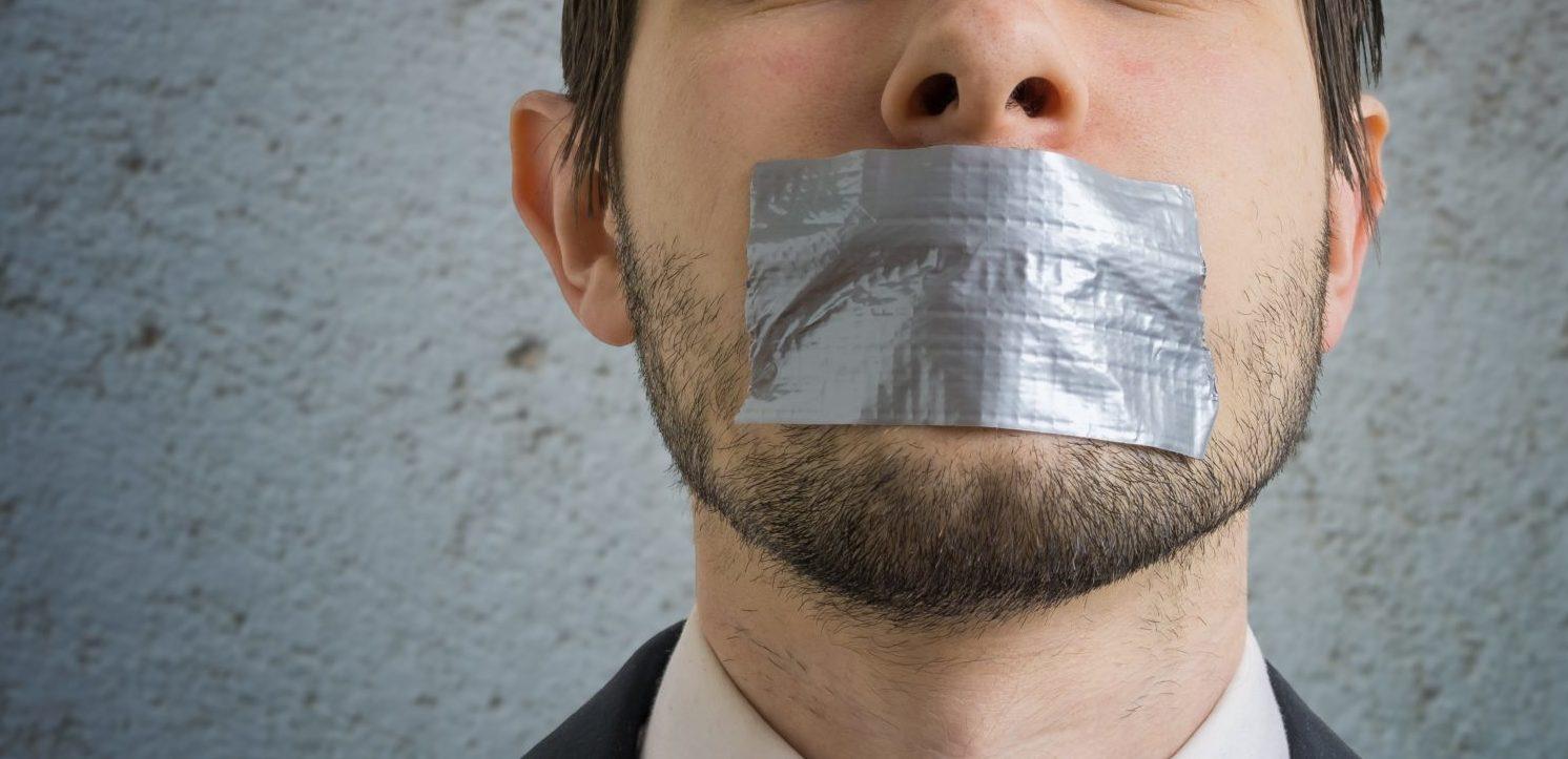 Censored Man (Shutterstock/ vchal)