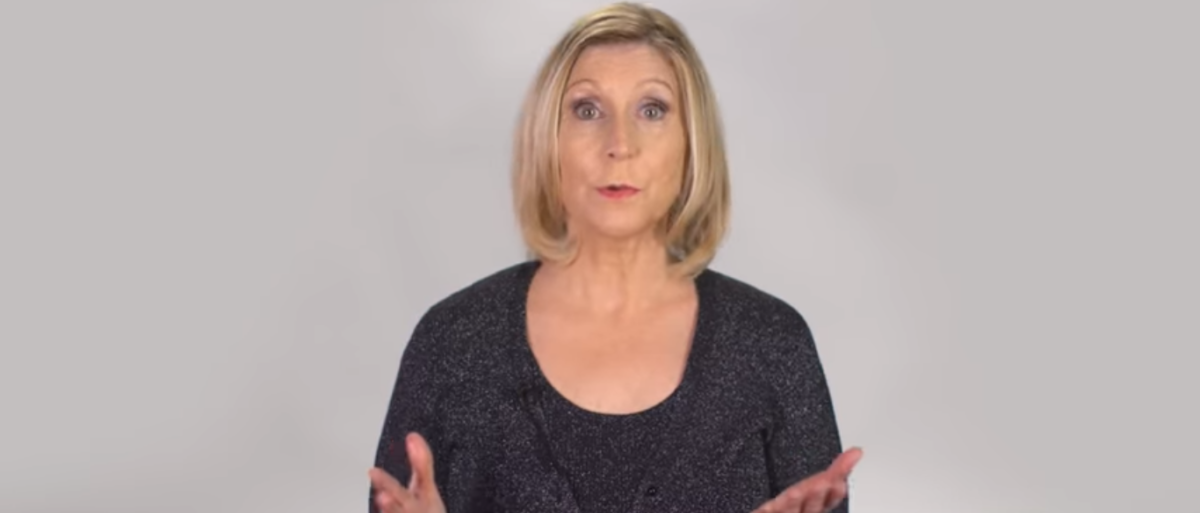 Christina Hoff Sommers talks about the #MeToo movement. (Photo Credit: YouTube/American Enterprise Institute)