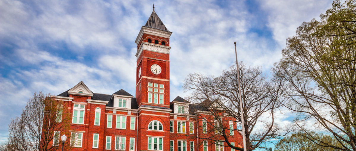 This is Tillman Hall at Clemson University. (Shutterstock/Rob Hainer)