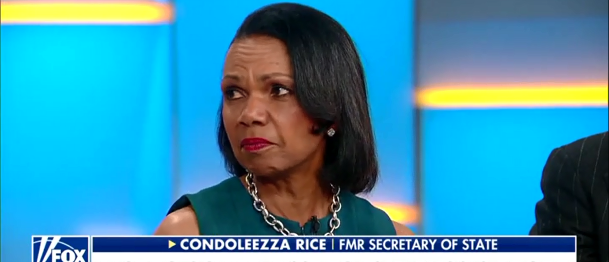 Condoleezza Rice Doubles Down And Gives Adam Schiff Another Wake Up Call On Russia - Fox & Friends 3-2-18 (Screenshot/Fox News)