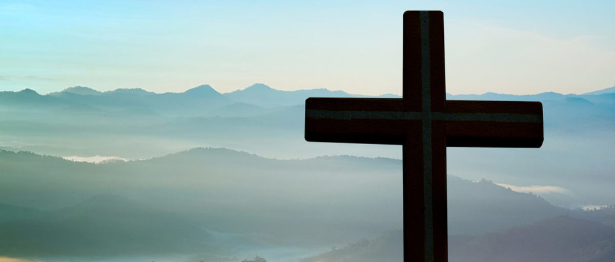 A cross is featured in nature. (Shutterstock/Doidam 10)